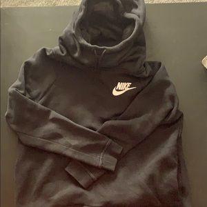 Nike black hooded sweatshirt